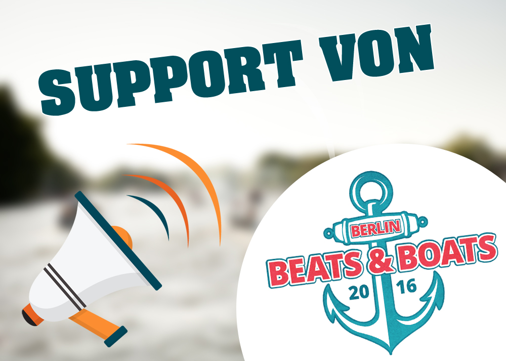 Support Berlin Beats & Boats