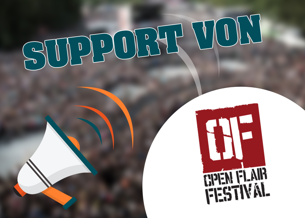 support open flair festival